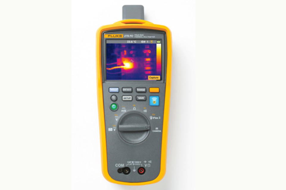 New thermal camera added to multimeter