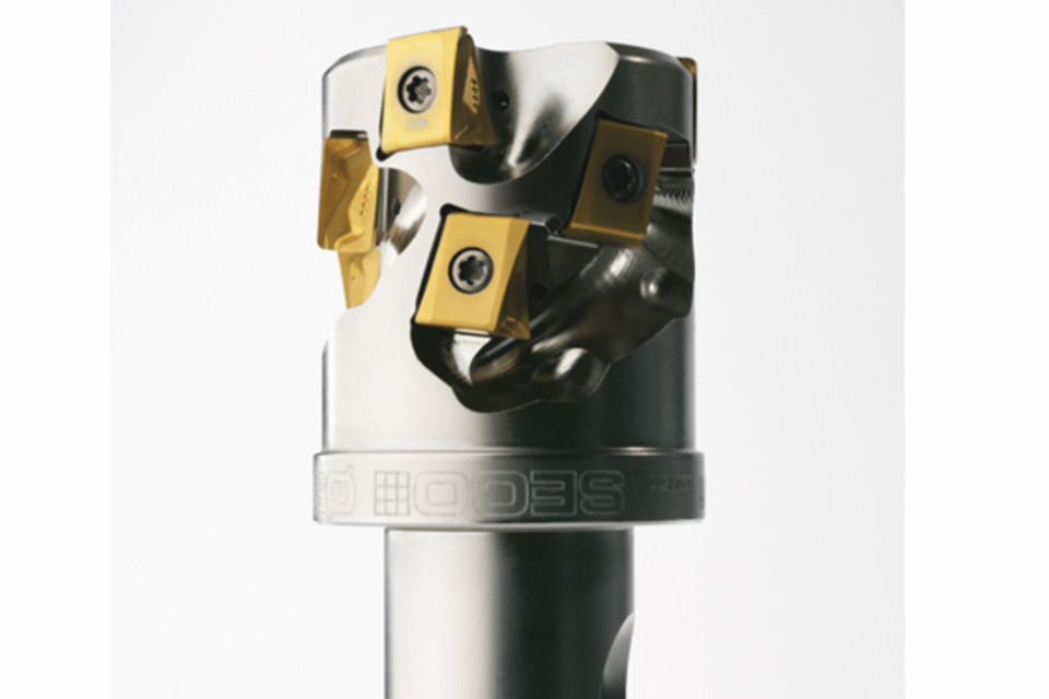 New milling cutters have larger inserts for better machining
