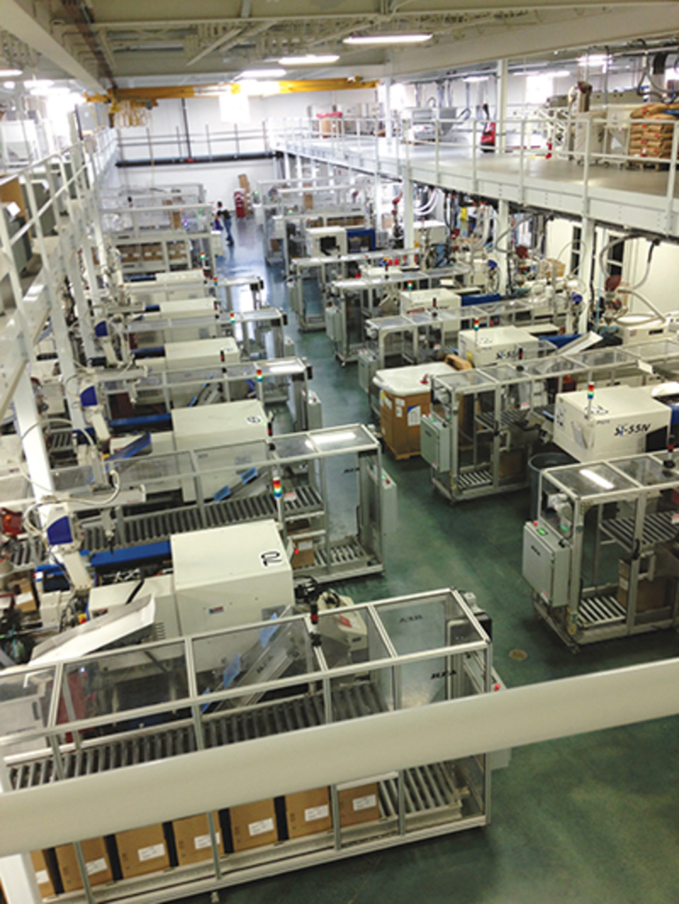 Equipment Plant Layout Allow Pci Lights Out Wisconsin Facility Shine