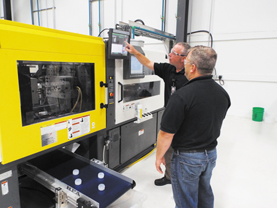 Low-pressure molding yields benefits