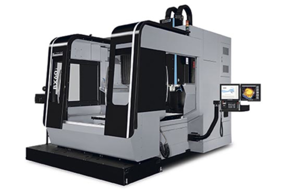 Hurco's CNC machine features H-frame design, WinMax control