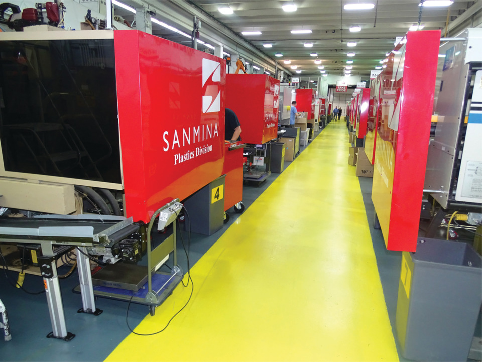Injection molder Sanmina aims to eliminate inspections